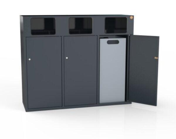Kosz do segregowania odpadów KZO120-3