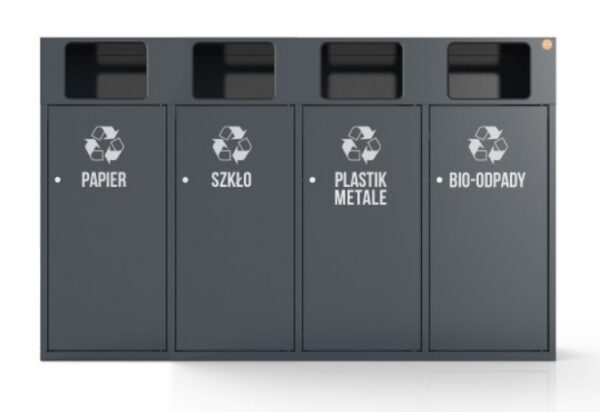 Kosz do segregowania odpadów KZO1204