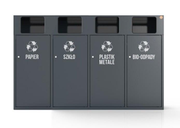 pojemnik do segregacji śmieci